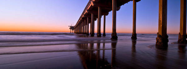 Scripps Pier Photograph - Scripps Pier  by Lee Bertrand