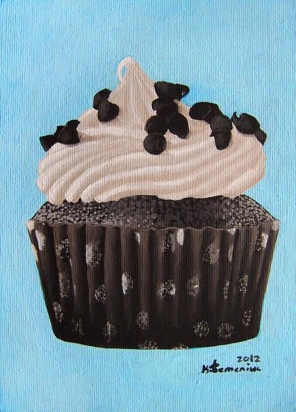 Whipped Cream Painting - Scrumptious by Kayleigh Semeniuk