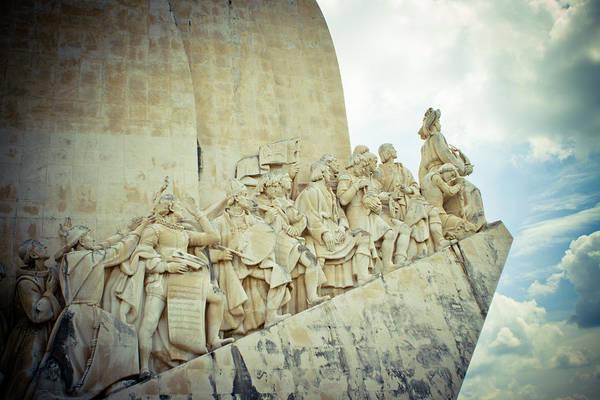 Photograph - Sculpture Vasco Da Gama Portugal by Raimond Klavins