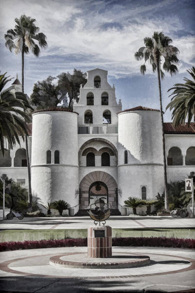 Digital Art - Hepner Hall by Photographic Art by Russel Ray Photos