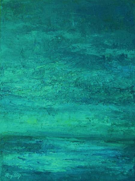 Painting - Sea And Sky by Mary Wolf