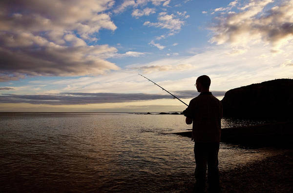 Eire Photograph - Sea Angling At Stage Cove by Panoramic Images