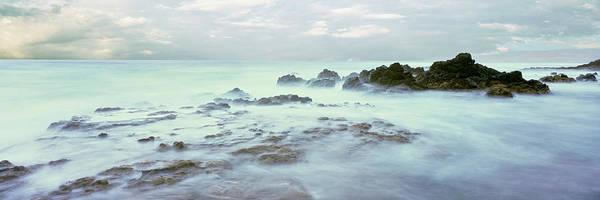 Roca Wall Art - Photograph - Sea At Dawn, Las Rocas Beach, Baja by Panoramic Images