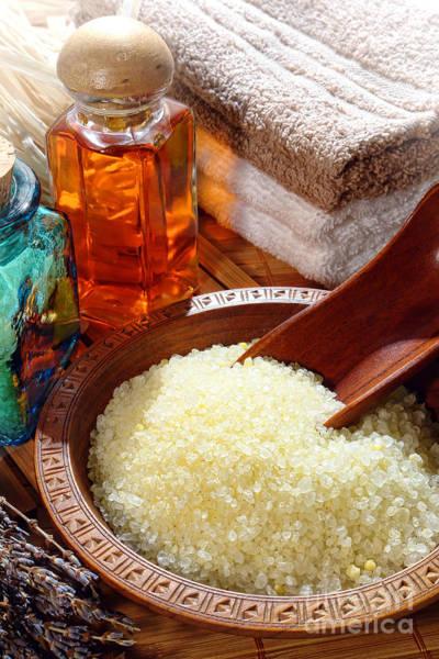 Photograph - Sea Bath Salts by Olivier Le Queinec