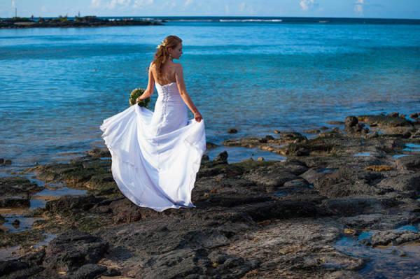 Wedding Bouquet Photograph - Sea Bride I by Jenny Rainbow