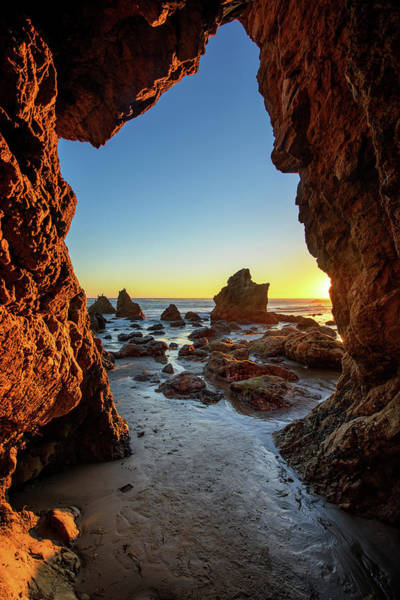 Matador Photograph - Sea Cave by Piriya Photography