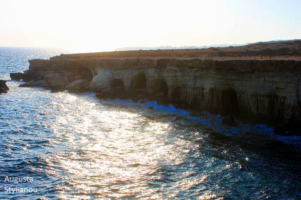 Photograph - Sea Caves by Augusta Stylianou