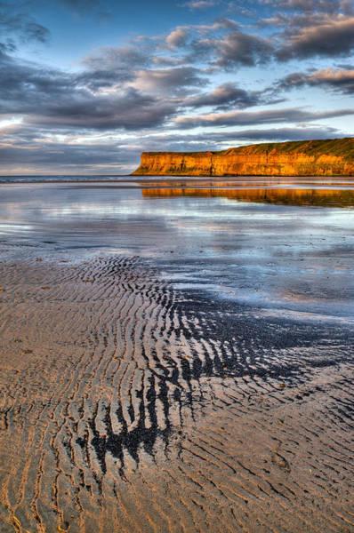 Photograph - Sea Coal Saltburn Sunset by Gary Eason