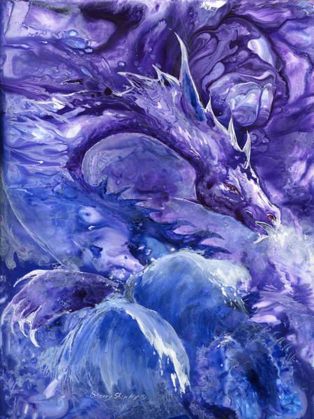 Painting - Sea Dragon by Sherry Shipley