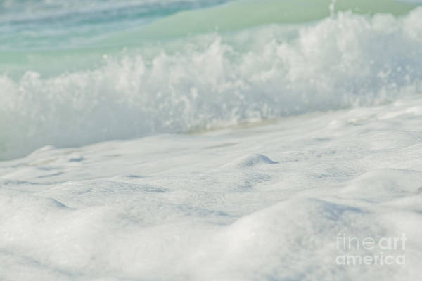 Foaming Wall Art - Photograph - Sea Foam - Ocean Medley by Sharon Mau