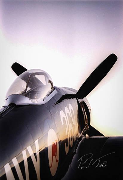 Kimberley Airport Photograph - Sea Fury  by Paul Job