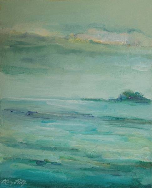Painting - Sea Glass by Mary Wolf