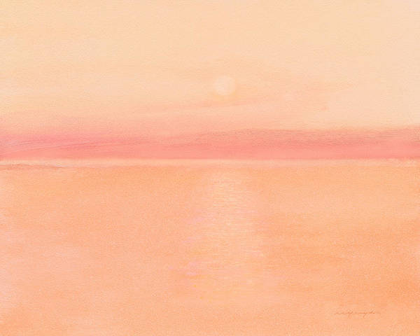 Sea Horizon Art Print