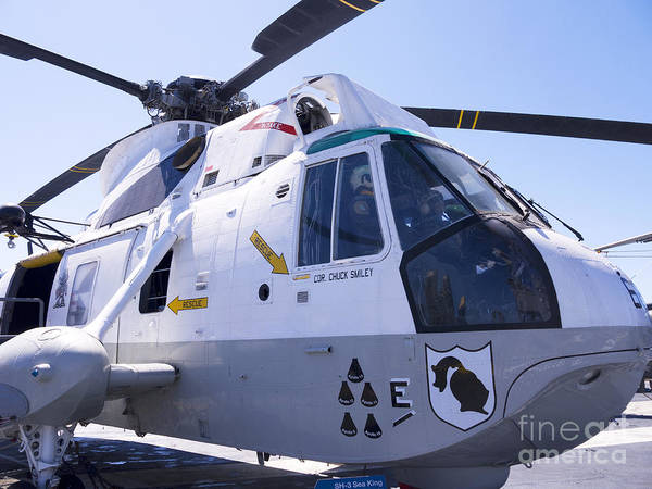 Photograph - Sea King Military Helicopter by Brenda Kean
