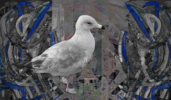Highrise Digital Art - Sea Me by Jade Knights