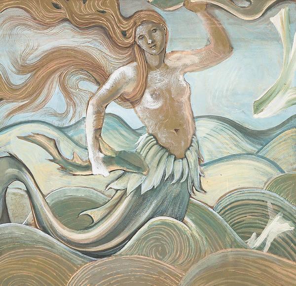 Wall Art - Painting - Sea Nymph by Sir Edward Coley Burne-Jones