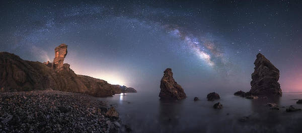 Wall Art - Photograph - Sea Of Galaxies by Juan Facal Photography