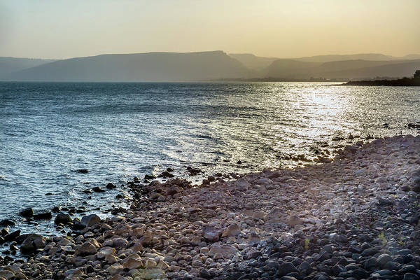New Testament Photograph - Sea Of Galilee Capernaum From Saint by William Perry