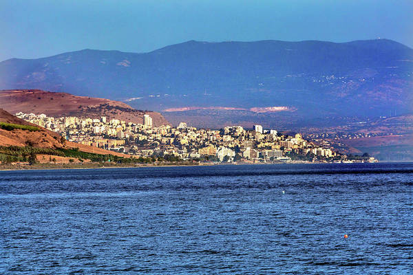 New Testament Photograph - Sea Of Galilee Israel Tiberias by William Perry
