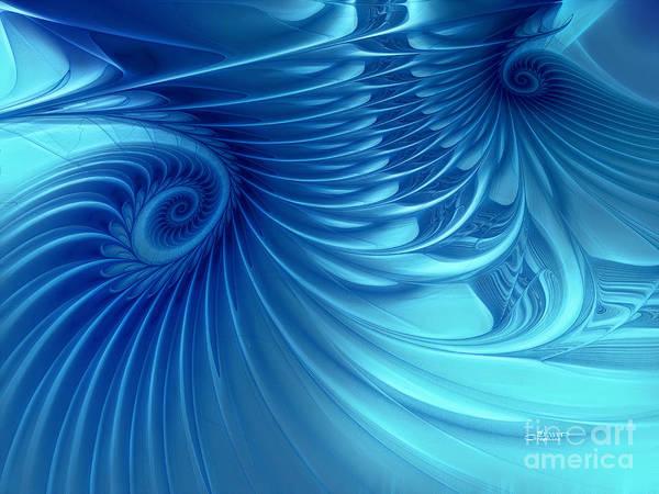 Digital Art - Sea Of Love by Jutta Maria Pusl