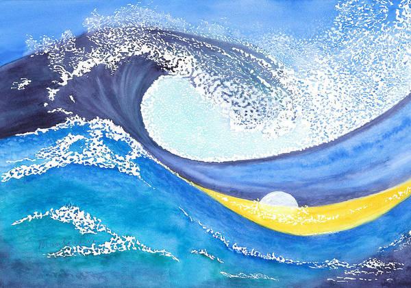 Paramhansa Yogananda Painting - Sea Of Mirth by Mantradevi LoCicero