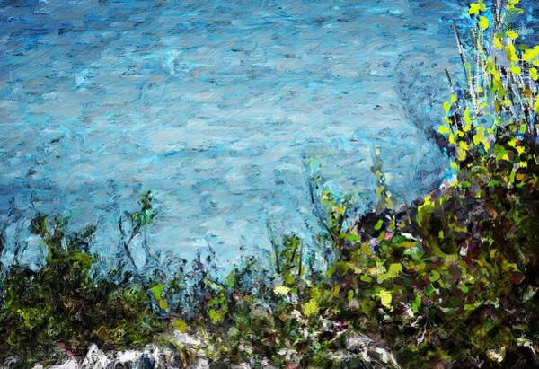 Wall Art - Digital Art - Sea Shore 1 by David Lane