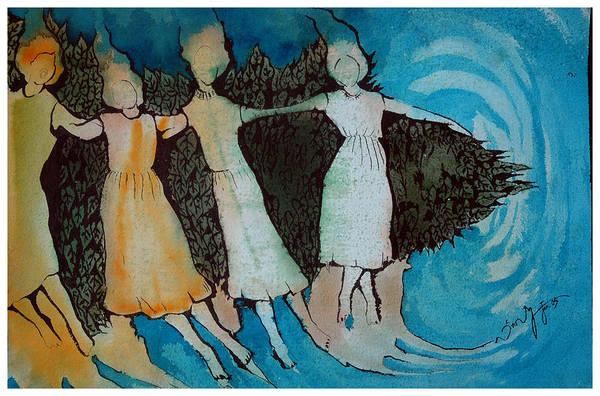 Kannan Painting - Sea by Sooraj Kannan