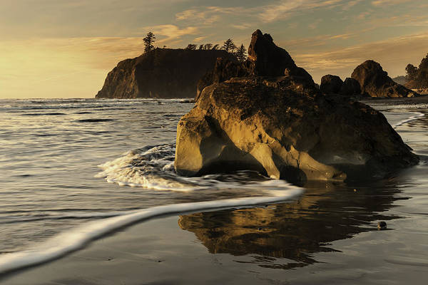 Wall Art - Photograph - Sea Stacks And Sea Foam by Alvin Kroon