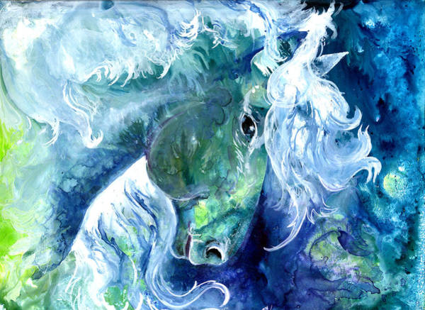Painting - Sea Stallion by Sherry Shipley