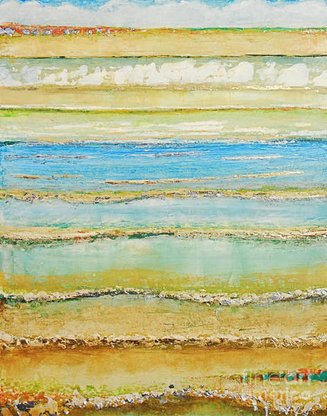 Painting - Sea Stripe by Kaata    Mrachek