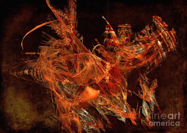 Digital Art - Sea Urchin by Alexa Szlavics