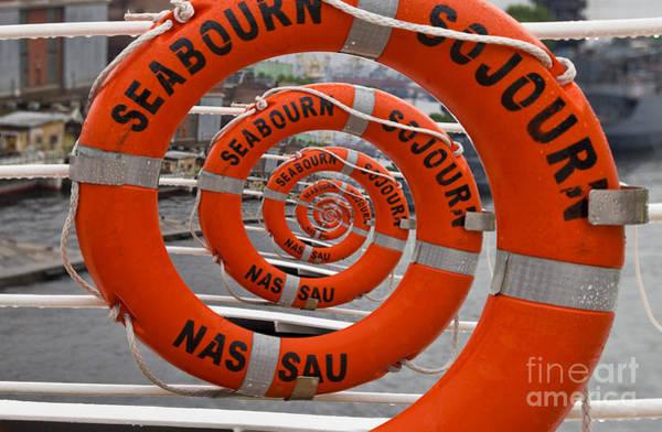 Seabourn Sojourn Spiral. Art Print