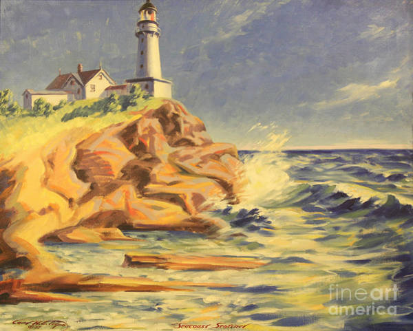 Painting - Seacoast Sentinel 1937 by Art By Tolpo Collection