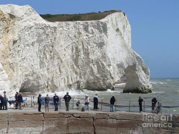 Photograph - Seaford Head - East Sussex by Phil Banks
