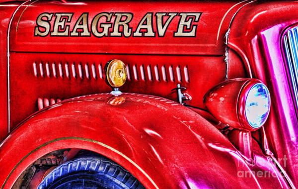 Photograph - Seagrave By Diana Sainz by Diana Raquel Sainz