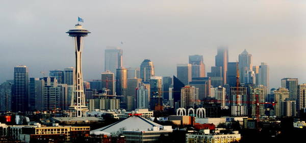Wall Art - Photograph - Seahawk Skyline Panorama by Benjamin Yeager