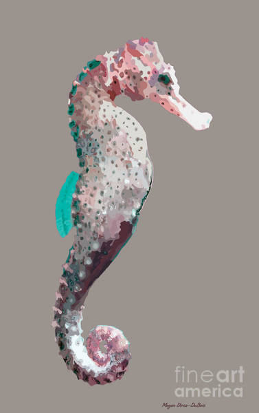 Mangroves Digital Art - Seahorse by Megan Dirsa-DuBois