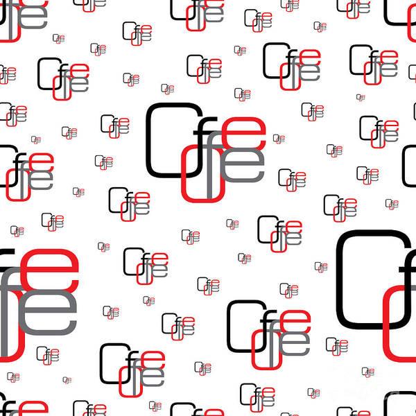 Seamless Wall Art - Digital Art - Seamless Background Clove Coffee With by Sergio99