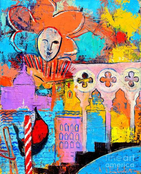 Painting - Search Of Lost Time In Venice by Ana Maria Edulescu