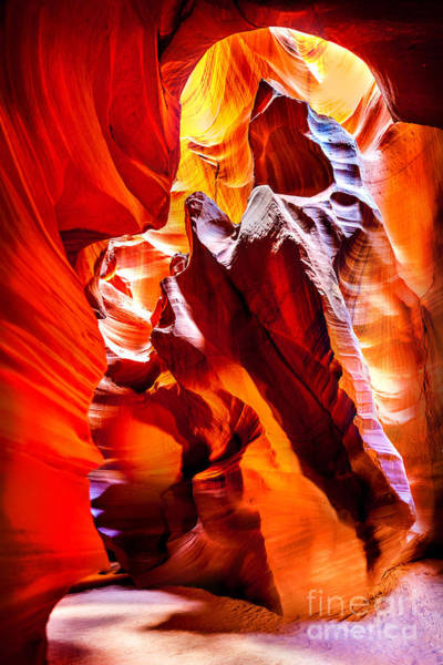 Rock Formation Photograph - Searching For The Sun by Az Jackson