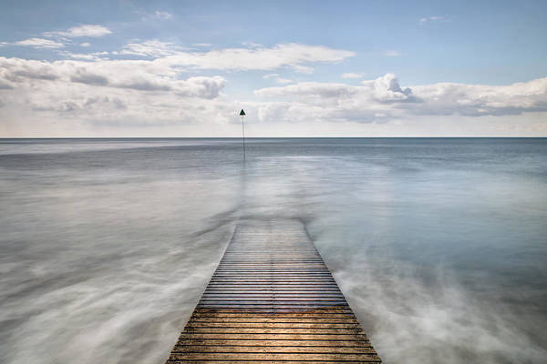 Wast Wall Art - Photograph - Seascale Pier by Chris Frost