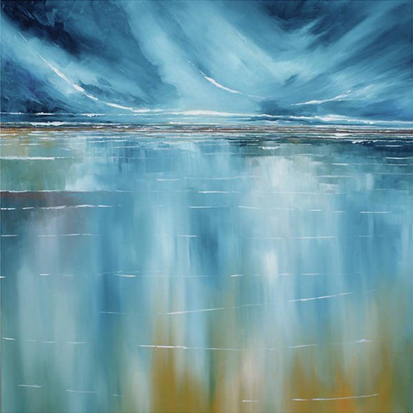 Skyscape Painting - Seascape by Stuart Roy