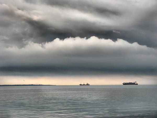 Photograph - Seascape Thessaloniki Greece by Daliana Pacuraru