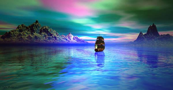 Mixed Media - Seascape by Tyler Robbins
