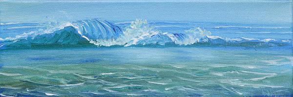 Painting - Seascape Wave IIi by Trina Teele