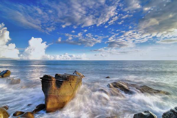 Taiwan Photograph - Seascape With Rocks by Taiwan Nans0410