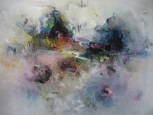 Wall Art - Painting - Seascape00033 by Seon-Jeong Kim