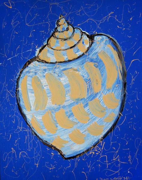 Captiva Island Painting - Seashell by Daniel P Cronin