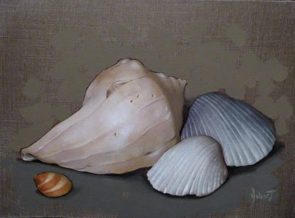 Wall Art - Painting - Seashells by Clinton Hobart