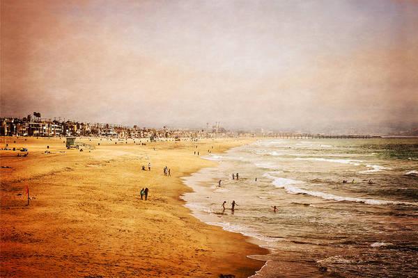 Photograph - Seashore At Manhattan Beach by Eleanor Abramson